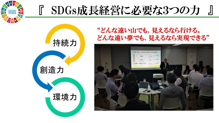 SDGs成長経営3つの力